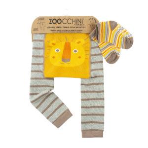 Zoochini Leo The Lion Baby Legging & Sock Set