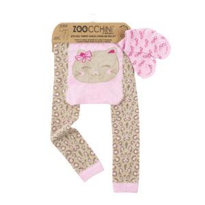 Zoochini Kallie The Kitten Baby Legging & Sock Set