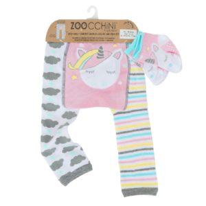 Zoochini Allie the Alicorn Baby Legging & Socks Set