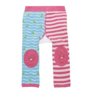 Zoochini Marietta the Mermaid Baby Legging & Socks Set padded knees