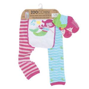 Zoochini Marietta the Mermaid Baby Legging & Socks Set