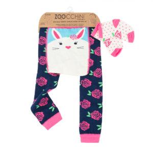 Zoochini Bella the Bunny Baby Legging & Socks Set