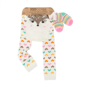 Zoochini Fiona the Fawn Baby Legging & Socks Set