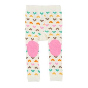 Zoochini Fiona the Fawn Baby Legging & Socks Set padded knees