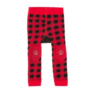 Zoochini Bosley the Bear Baby Legging & Socks Set padded knees