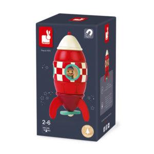 Janod small magnetic rocket box