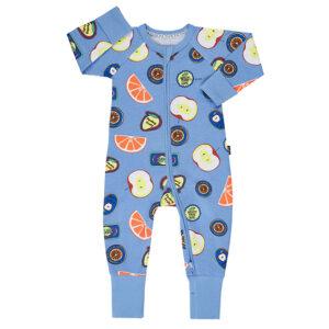 Bonds Fruit Sticker Fun Blue Wondersuit
