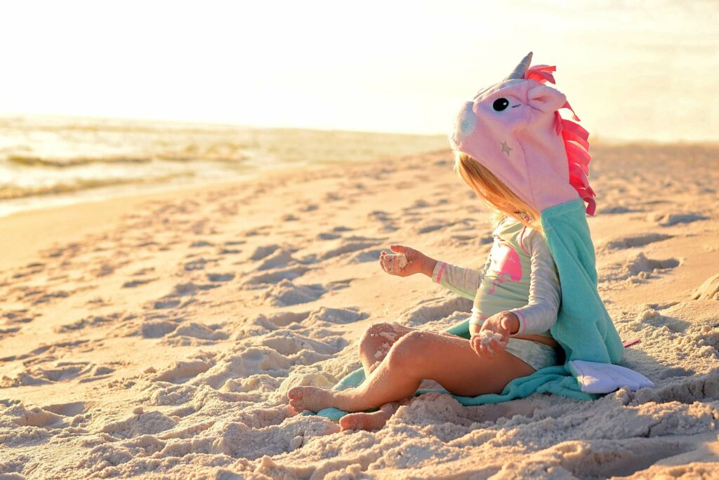 Zoocchini hooded toddler towels