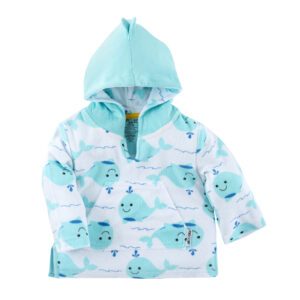 Zoocchini Willy the whale cover up
