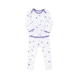 OETEO - Popper Free Babygrow Sleepsuit - Little Musician
