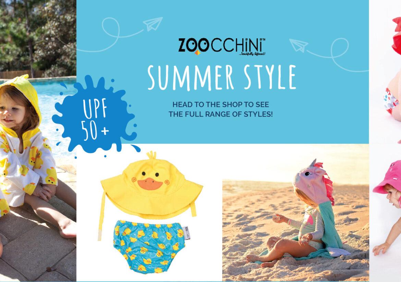 Zoocchini summer baby clothing
