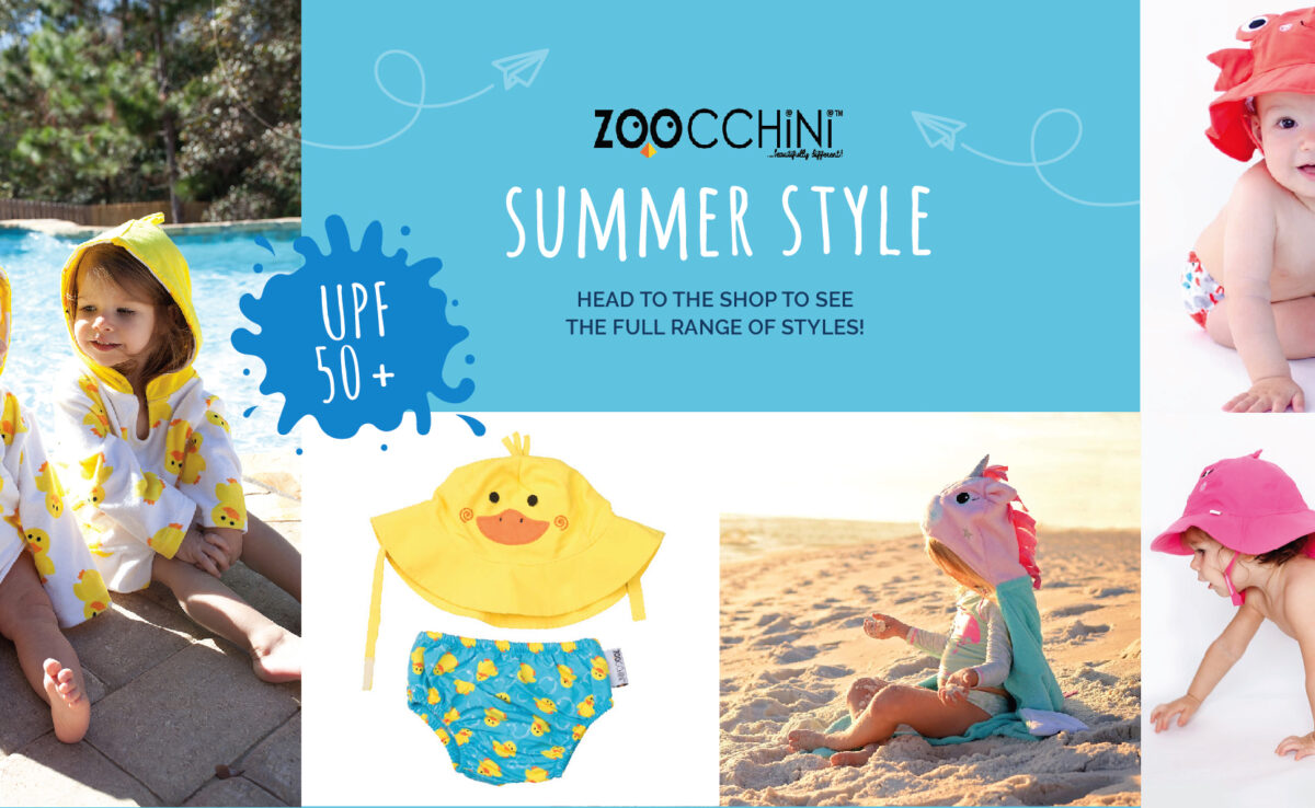 Get Baby Summer Ready with Zoocchini