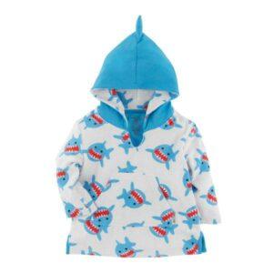 Zoocchini Swim Coverup Sherman the Shark