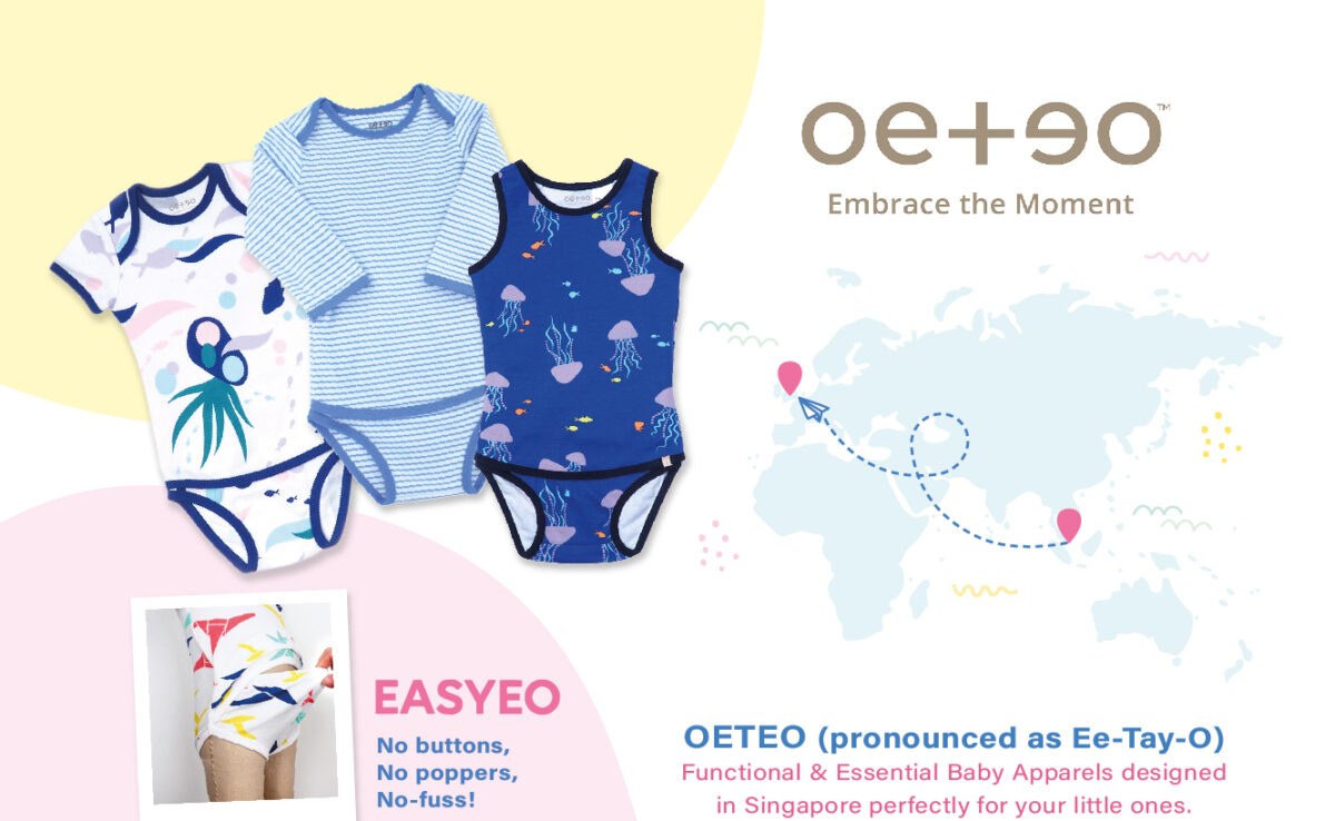 Introducing OETEO – Popper Free Baby Clothes
