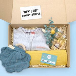 New Baby Starter Kit Gift Set With Wondersuit